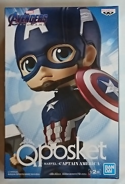 Q posket MARVEL CAPTAIN AMERICA A キャプテン アメリカ