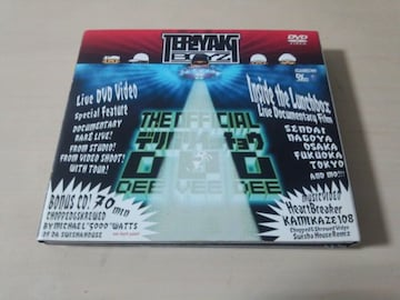 テリヤキボーイズDVD「THE OFFICIAL デリバリイッチョウ」CD付●