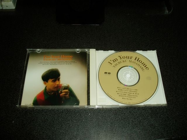CD「鶴久政治(マサハル)/I'm Your Home」チェッカーズ 93年盤 < タレントグッズの