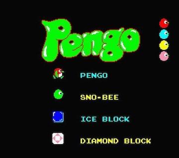 MSX2 Pengo ペンゴ