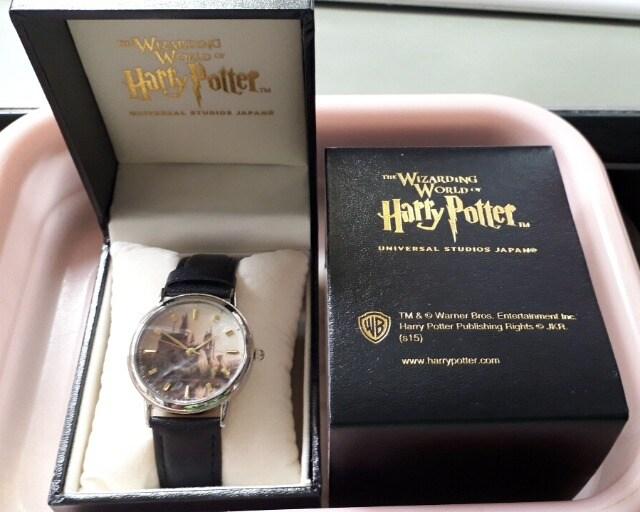 未使用USJハリーポッター腕時計