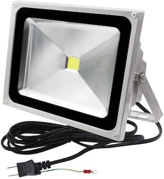LED投光器 50W 500W相当 4300LM 昼光色 6500K