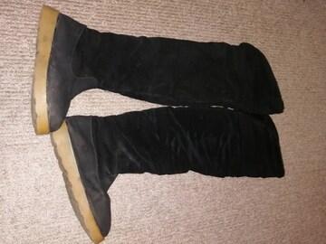 M 黒 ブーツ
