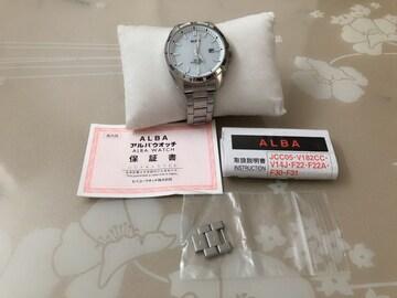 T142 ★SEIKO セイコー ALBA アルバ ソーラー メンズ 腕時計