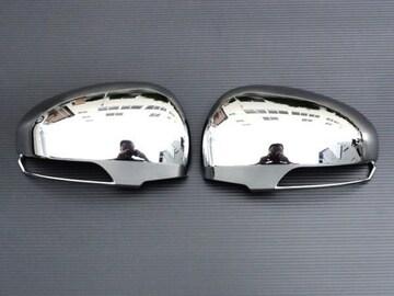 メッキドアミラーカバー トヨタ プリウス30 プリウスα ウィッシュ IQ ダイハツ メビウス