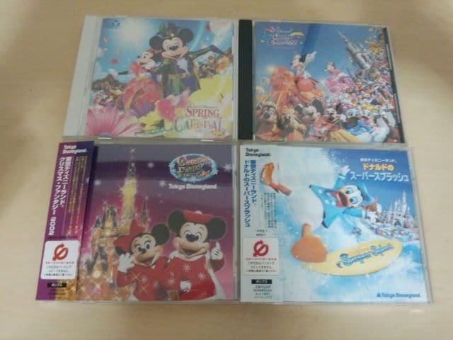 東京ディズニーランドCD4枚セット★  < CD/DVD/ビデオの