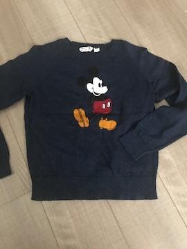 UNIQLOkids美品ミッキーセーター140
