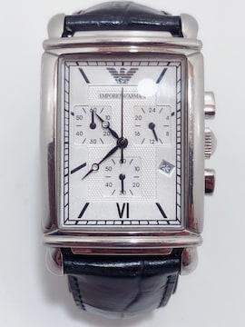 T234 美品 EMPORIO ARMANI アルマーニ 腕時計 AR-0284