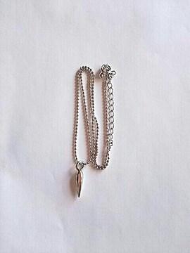 新品 シンプル ネックレス シルバー アクセサリー 銀