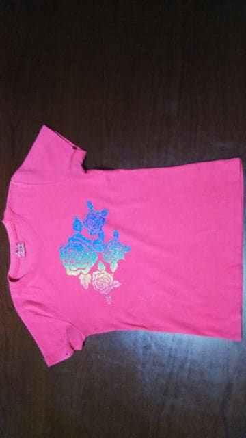 CHOKO CHIPS ピンク Tシャツ  < 女性ファッションの
