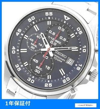 新品 即買■セイコー 腕時計 メンズ SKS625P1 ネイビー シルバー