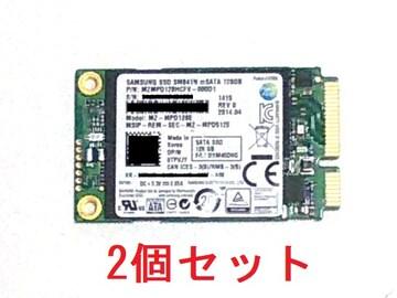 ★SSD サムスン MZ-MPD128E 128GB mSATA MLC 2個セット