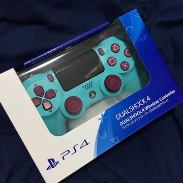 ゲオ限定 完売品 新品 デュアルショック4 ベリーブルー PS4