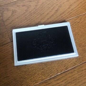 新品 オロビアンコ Orobianco ロゴ型押し 名刺入れ カードケース