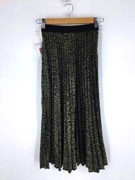 ZARA(ザラ)総柄プリーツスカートプリーツスカート