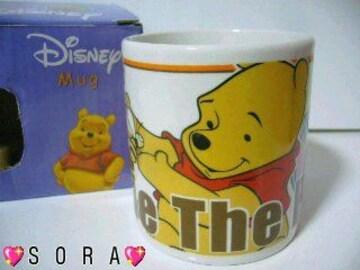 ディズニー【プーさんと仲間達】オリジナルボックス付♪陶器製マグカップ