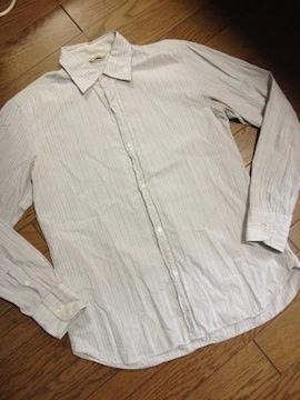 美品JOURNAL STANDARD ストライプシャツ 日本製 ジャーナル