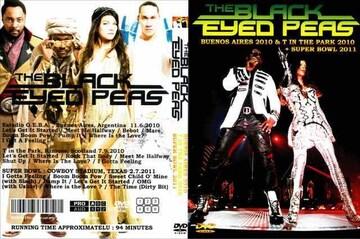 BLACK EYED PEAS ブラックアイドピーズ 2010 & SUPER BOWL 2011