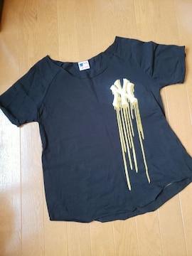 ☆新品同様☆LB-03☆切りっぱなし半袖Tシャツ