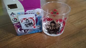 【一番くじ ONE PIECE】墨式グラス(ワノ国編)1