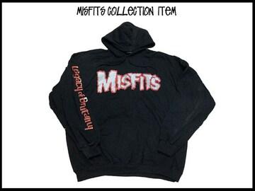 Misfits ミスフィツコレクタ品 90オリジナルフッド付パーカ黒