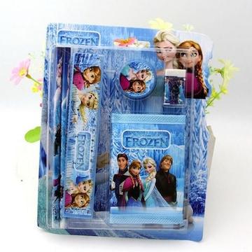 アナと雪の女王 5点文具&財布セット