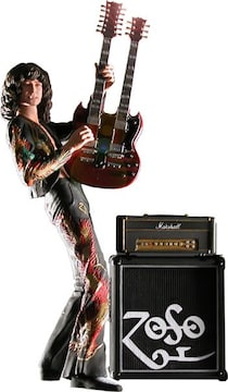 NECA ジミー・ペイジ 7インチ アクションフィギュア Led Zeppelin 絶版
