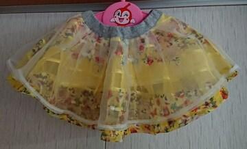ムージョン購入☆春物チュールスカート☆size100