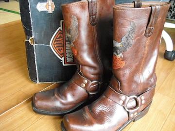 オールド ハーレーダビッドソン純正 ブーツ 27,5センチ