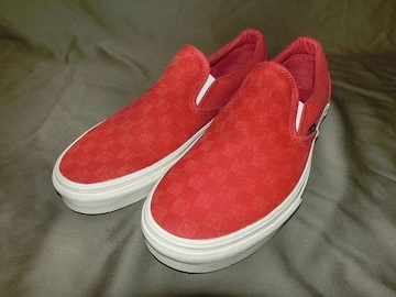 USA購入 オーバーウォッシュ加工 Vans【Classic Slip On】27.5�a