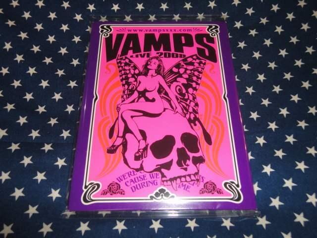 VAMPS『VAMPS』+『BEAST』初回盤+『LIVE 2008』初回盤 3枚 (HYDE < タレントグッズの
