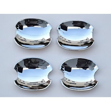アルファード20系 ヴェルファイア20系 鏡面メッキ インナードアハンドルカバー 皿