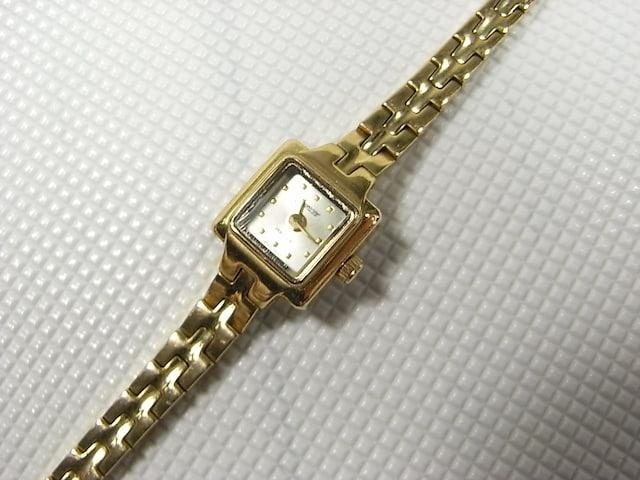 500スタ☆JUBLIFE 腕時計 ゴールドカラー