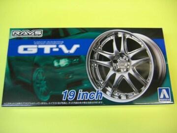 アオシマ 1/24 ザ・チューンドパーツ No.71 ボルクレーシング GT-V 19インチ