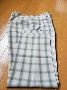 ☆新品同様☆ジャンセン☆夏生地スラックス☆ゴルフ☆w91