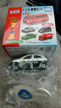 トミカ 標識セット 日産マーチ パトロールカー 未使用 新品 販売終了品