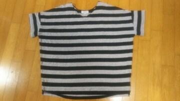 大きいサイズ★BDVネックシャツ★LL