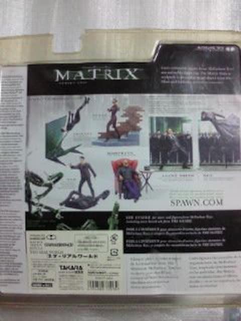タカラ 映画 MATRIX マトリックス シリーズ2 NEO ネオ リアル ワールド フィギュア < ホビーの