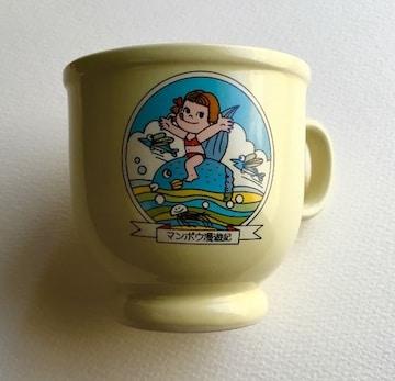 ◆ペコちゃん プリンマグカップ 『マンボウ漫遊記』