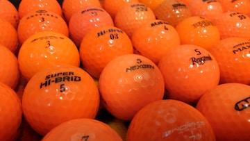 ☆カラーボール・オレンジ☆50個