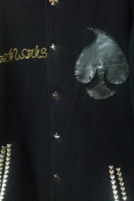 即決TRIBEWORKSユニオンスパイダーファラオJkt!ロックホットロッドサイコビリースタイル < 男性ファッションの