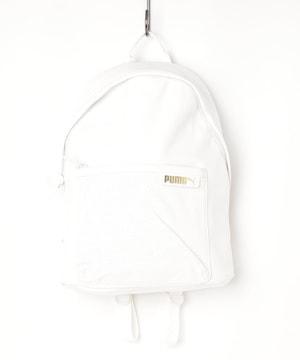 タグ付新品プーマPUMAレザー調バックパックリュックバッグ鞄女性