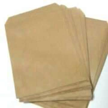 R85サイズ未晒無地平袋★60枚★シンプル紙袋