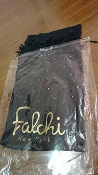 【美品!!】Falchi Newyork ファルチのラインストーンマフラー