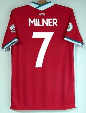 新品☆ミルナー☆リバプール☆赤7番半袖☆イングランド代表