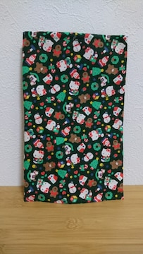 サンリオ ハローキティ クリスマス柄布地 幅90×50�a