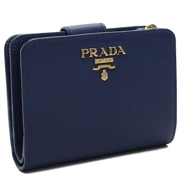 PRADA 2つ折り財布 コンパクト財布 1ML018 QWA F0016