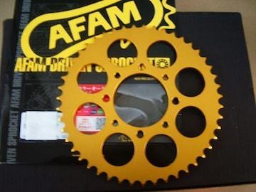 (7714)RG250RG250EXAMウイリー用製旧AFAM製ゴールドスプロケット
