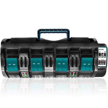 マキタ DC18SF 互換充電器 4口充電器 14.4V/18V