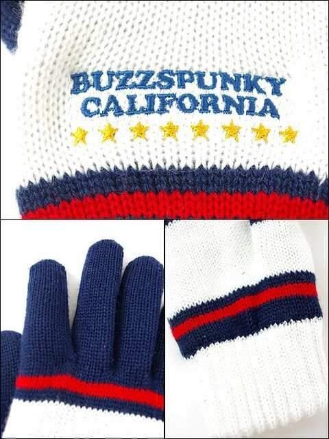 BUZZSPUNKY(バズスパンキー)CALIFORNIA手袋/F < ブランドの